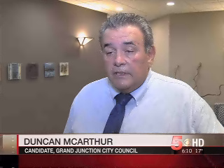 Duncan McArthur, endorsed by the Chamber, ran for City Council and lost. He was later appointed to Council by the three above chambermades, who nixed an election, declared themselves a majority on the seven-seat Council, and appointed McArthur to fill deceased councilor Harry Butler's seat.