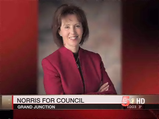 Phyllis Norris, former chair of the Chamber's Board of Directors